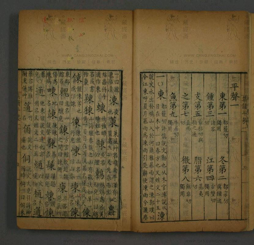 """title=""""集韵.卷1-10.丁度等脩定插图2"""""""